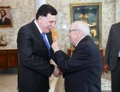 الرئيس التونسى يبحث مع فائز السراج مستجدات الأوضاع على الساحة الليبية
