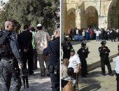 """عشرات المستوطنين يقتحمون """"الأقصى"""" بحراسة الاحتلال الإسرائيلى"""