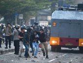 6 قتلى و200 مصاب فى اشتباكات بين متظاهرين والشرطة الإندونيسية