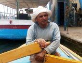 """""""الريس سعيد"""" 50 عاما فى حب مهنة الصيد ويطالب بمعاش لمساعدته فى زواج بناته"""