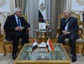 """""""السفير العراقى"""" بالقاهرة يزور الانتاج الحربى لبحث سبل التعاون المشترك"""