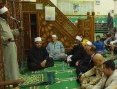 نائب محافظ أسوان يشهد الاحتفال بذكرى غزوة بدر بالابتهالات والمدائح النبوية