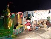 """هالة الشارونى تحكى """"حدوتة رمضانية"""" للأطفال بالحديقة الثقافية بالسيدة زينب"""