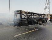 """النيابة تحفظ التحقيق فى حريق أتوبيس نقل عام بالنزهة: """"لا شبة جنائية"""""""