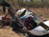"""""""بسبعة أرواح"""".. نجاة 3 ركاب بعد سقوط طائرتهم من ارتفاع 80 مترا بأستراليا"""