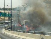 شاهد.. اندلاع الحرائق فى إسرائيل بسبب الحر الشديد