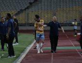 إصابة متولي بخلع فى الترقوة .. وغياب الشامي وصادق أمام الجونة