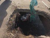 رئيس مدينة شبين القناطر: لا صحة لانهيار كوبرى عبودة وجارى ترميمه
