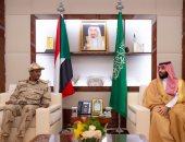 ولى العهد السعودى يلتقى نائب رئيس المجلس الانتقالى السودانى