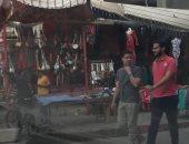 صور.. وسط مدينة العريش قبلة أهالى سيناء للتسوق والسهر فى شهر رمضان