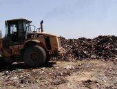 """صور.. استجابة لـ""""اليوم السابع"""".. رفع تلال القمامة بقرية نهطاى بالغربية"""