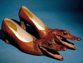 """""""برأس تمساح وشفاف"""".. أبشع الأحذية فى العالم  × 14صور"""