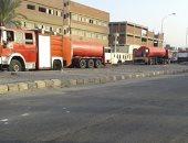 نشوب حريق بمصنع زجاج بالعاشر من رمضان.. والحماية المدينة تدفع بـ10 سيارات