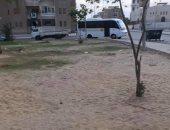 قارئ يشكو من عدم رى حدائق الشيخ زايد وتعرضها للتجريف