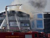 السيطرة على حريق نشب بمول تجارى بمدينة الزقازيق بالشرقية