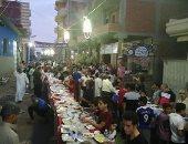لمة رمضان.. إفطار جماعى بالجهود الذاتية لأهالى قرية بلجاى بالدقهلية