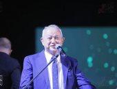 on e تنقل وقائع المؤتمر الصحفي لمهرجان الجونة السينمائى علي الهواء