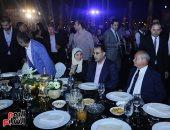 رئيس الوزراء فى حفل تطوير مشروع حديقة الشيخ زايد بحضور نجيب ساويرس