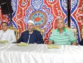 صور.. محافظ المنوفية يشهد حفل تكريم حفظة القرآن الكريم بقرية العامرة بمنوف