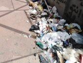 شكوى من انتشار القمامة بمنطقة النهضة بالسلام