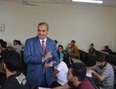 صور.. رئيس جامعة الأزهر يتفقد لجان امتحانات نهاية العام الدراسى