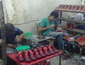 عجلة الصناعة فى حلب السورية تدور من جديد والمدينة تستئنف إنتاج الأحذية