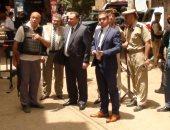 صور مدير أمن المنوفية يتفقد الخدمات الامنية بمركز شرطة الباجور