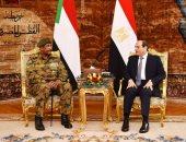 وسائل الإعلام العربية والدولية تبرز لقاء الرئيس السيسى ورئيس العسكرى السودانى