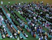 رمضان فى سريلانكا..المسلمون يفترشون الأرض فى أكبر مائدة إفطار بكولومبو