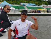 أحمد نجيب يحقق المركز السادس عشر فى كأس العالم لمنافسات الباراكانوى