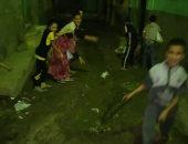 قارئ يشكو من انفجار ماسورة مياه بمركز العياط بالجيزة