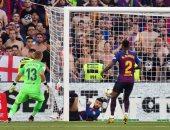 برشلونة ضد فالنسيا.. بيكيه ينقذ البارسا من تلقى الهدف الأول