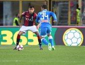 نابولي ينهي الدوري الإيطالي بخسارة قاسية ضد بولونيا.. فيديو