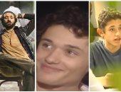 """صور.. مراحل تطور كريم محمود عبد العزيز من """"رجل  فى زمن العولمة"""" إلى """"هوجان"""""""