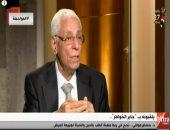 الدكتور حسام موافى ضيف الصالون الثقافى لنادى القضاة خلال مارس
