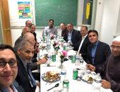 سفير مصر بنيويورك يشارك الجالية المصرية فى حفل إفطار بالمركز الإسلامى