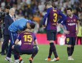 9 لاعبين فى قائمة ضحايا برشلونة بعد خسارة كأس ملك إسبانيا