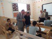 وكيل تعليم جنوب سيناء يتابع امتحانات الصف الأول الثانوى بأبوزنيمة وابورديس