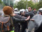 """""""السترات الصفراء"""" فشلت فى حشد المتظاهرين.. والداخلية: لم يتجاوز عددهم 5 آلاف"""
