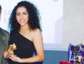 سارة عصام تتوج بجائزة الحذاء الذهبي في ستوك سيتي للسيدات..صور