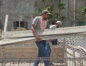 إزالة تعديات على أراضى تابعة لهيئة الأوقاف شرق الإسكندرية