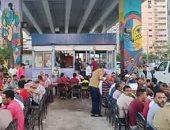 """""""مائدة المحبة"""".. رامى يقيم مائدة إفطار للأقباط والمسلمين تنفيذا لوصية والده"""