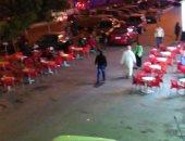 انتشار المقاهى والكافتيريات غير المرخصة شكوى أهالى المنتزه بالإسكندرية