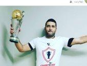 أمير عزمى يحتفل بالكونفدرالية عبر صفحته على الفيس بوك