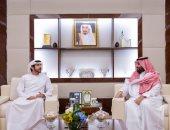 محمد بن سلمان يلتقى ولى عهد دبى لتطوير التعاون بين الجانبين فى مختلف المجالات