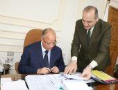 محافظ القاهرة: توصيل الغاز لعزبة جلال بالمعادى وإنشاء محطة أتوبيس بكفر العلو