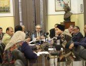 المجلس الاستشارى لاتحاد كتاب مصر يناقش خطته الاستراتيجية فى اجتماعه الأول