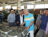 محافظ المنوفية يتفقد مصانع مدينة السادات.. ويؤكد: توفير مناخ جيد للإستثمار