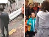 52 قلم على وشه.. فتاة صينية تصفع حبيبها لعدم إهدائها موبايل فى عيد الحب