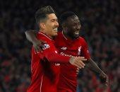 فيرمينو يقترب من قيادة هجوم ليفربول فى نهائى دورى أبطال أوروبا